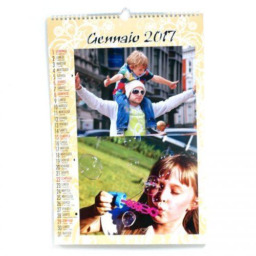 calendario personalizzato mensile