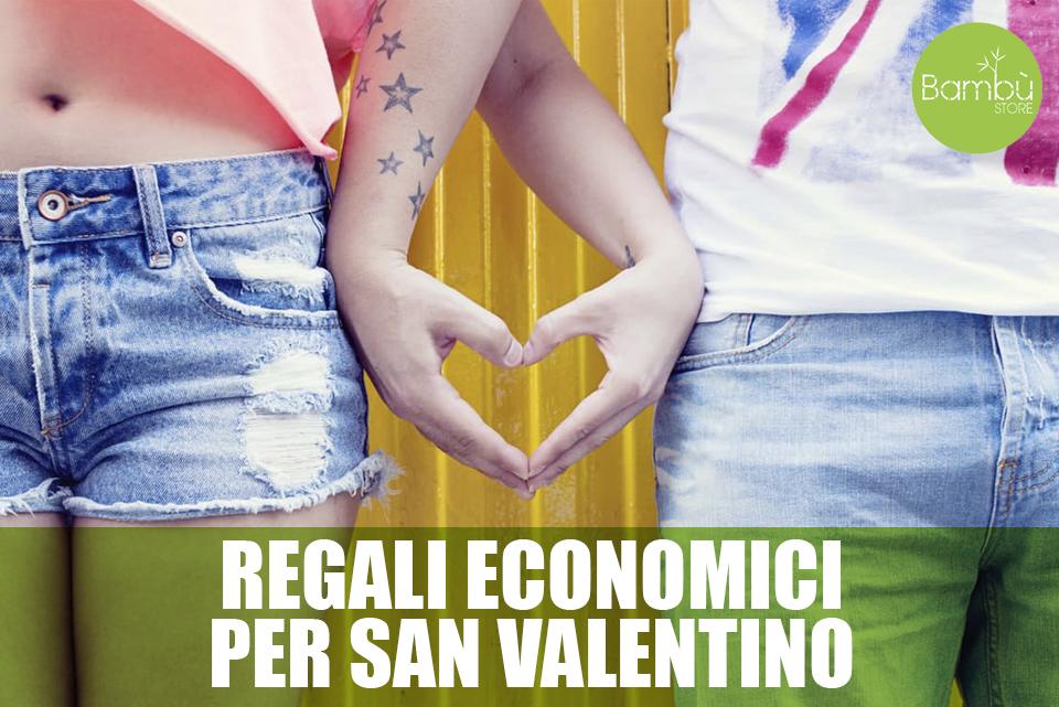 regali economici per san valentino